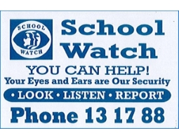 School watch poster